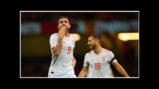 Paco Alcacer vom BVB mit Doppelpack für Spanien in Wales