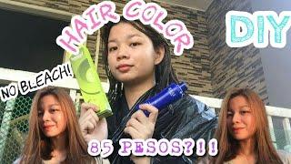 DIY TIPID HAIR COLOR AT HOME (NO BLEACH) | BREMOD | PHILIPIINES | RUSMIN PANGILINAN