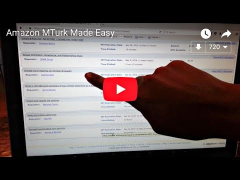 Amazon MTurk Made Easy