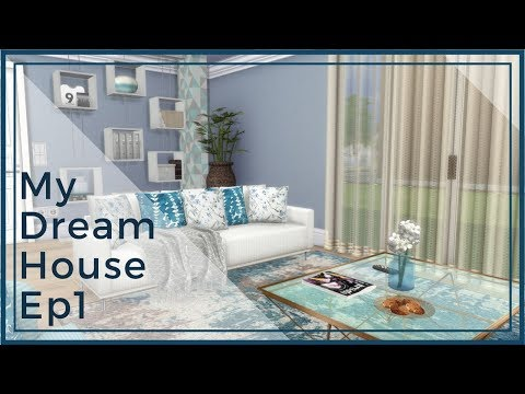 Sims 4 - TV Show *My Dream House* Inspiration Ep1 (Download + CC Creators List)