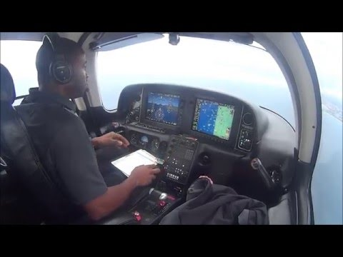 Flying Cirrus SR-22GTS: Flight from Boca Raton- Ft. Lauderdale Exceutive