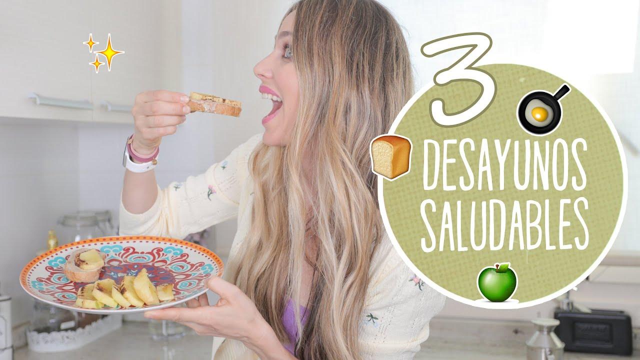 3 Desayunos saludables - Vanesa Romero TV
