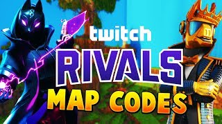 Fortnite Twitch Rivals Map Codes