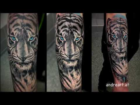 White tiger tattoo youtube for White tiger tattoo
