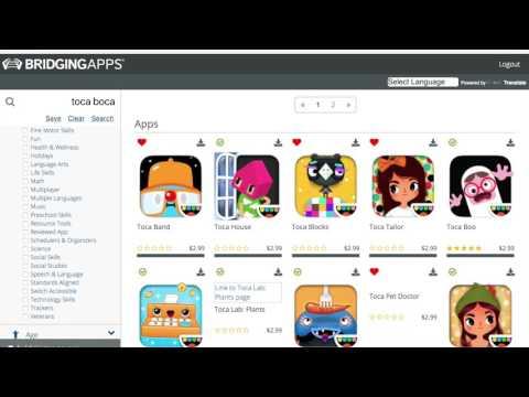 BridgingApps App Search Tool Update 2018
