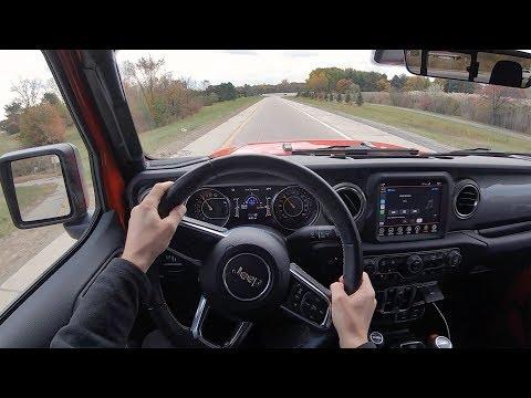 2020 Jeep Gladiator Overland 4x4 - POV Review
