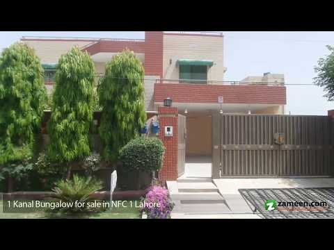 1 KANAL DOUBLE UNIT BUNGALOW FOR SALE IN NFC 1 LAHORE