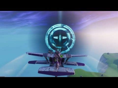 Fortnite Battle Royale - X-4 Stormwing Time Trial Locations + Solutions (Season 7 Challenges)