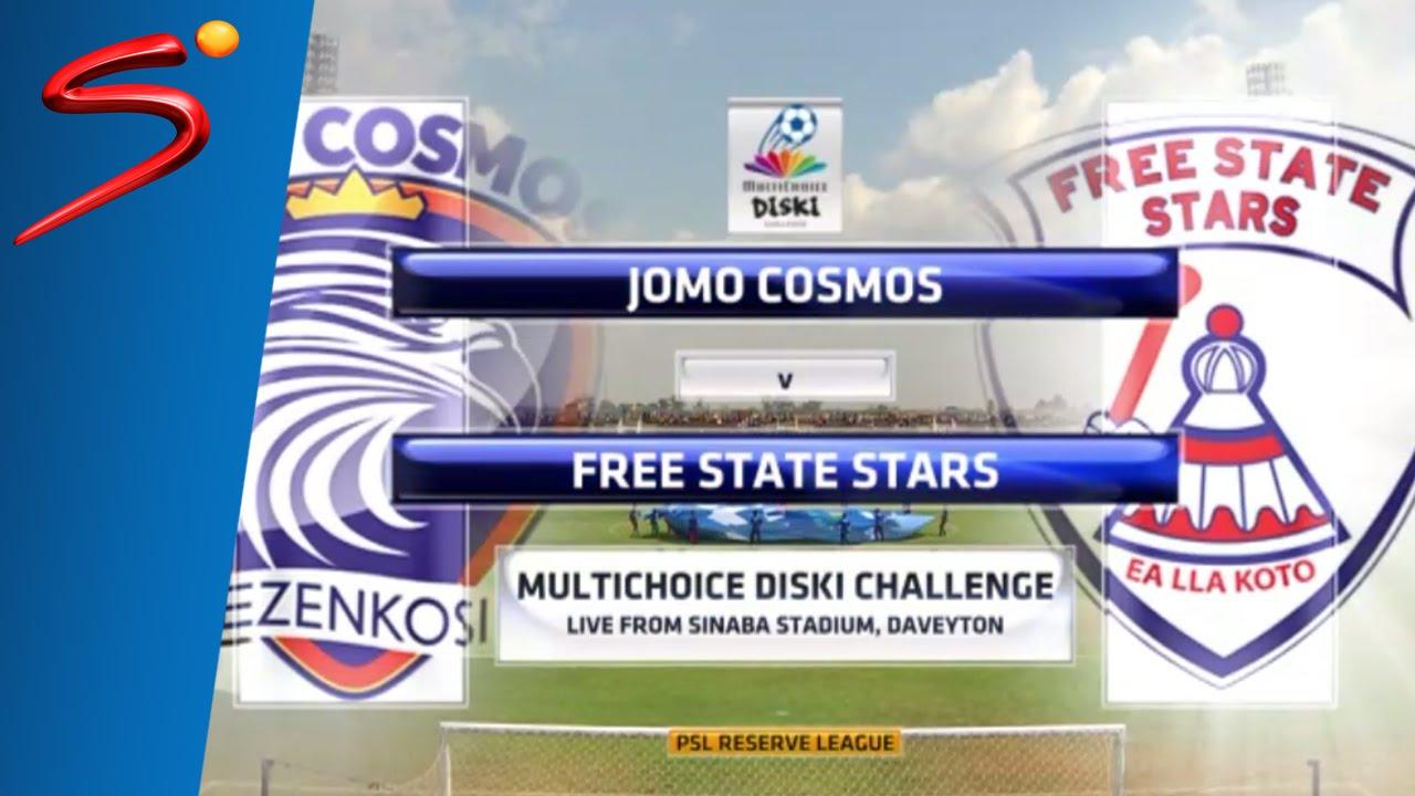 Jomo Cosmos 0-1 Free State Stars