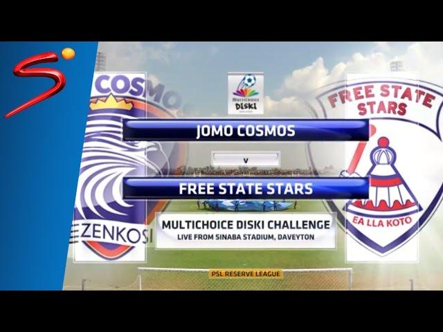 MultiChoice Diski Challenge 2015/16 Rd 9: Jomo Cosmos 0-1 Free State Stars