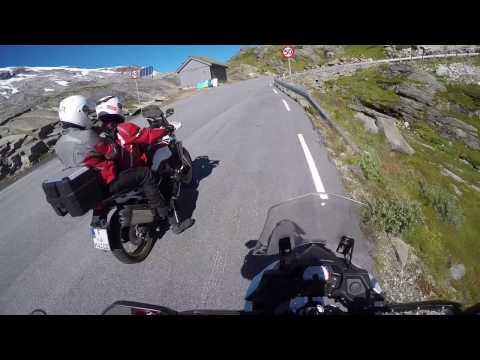 Motorradtour Norwegen: Auffahrt zum Dalsnibba