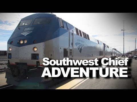 Thumbnail: Exciting trip aboard Amtrak train from KC to California!