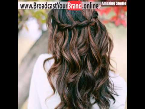 Black Hair With Caramel Highlights - YouTube