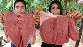 Tasty BBQ Beef with vegetable recipe with my sister