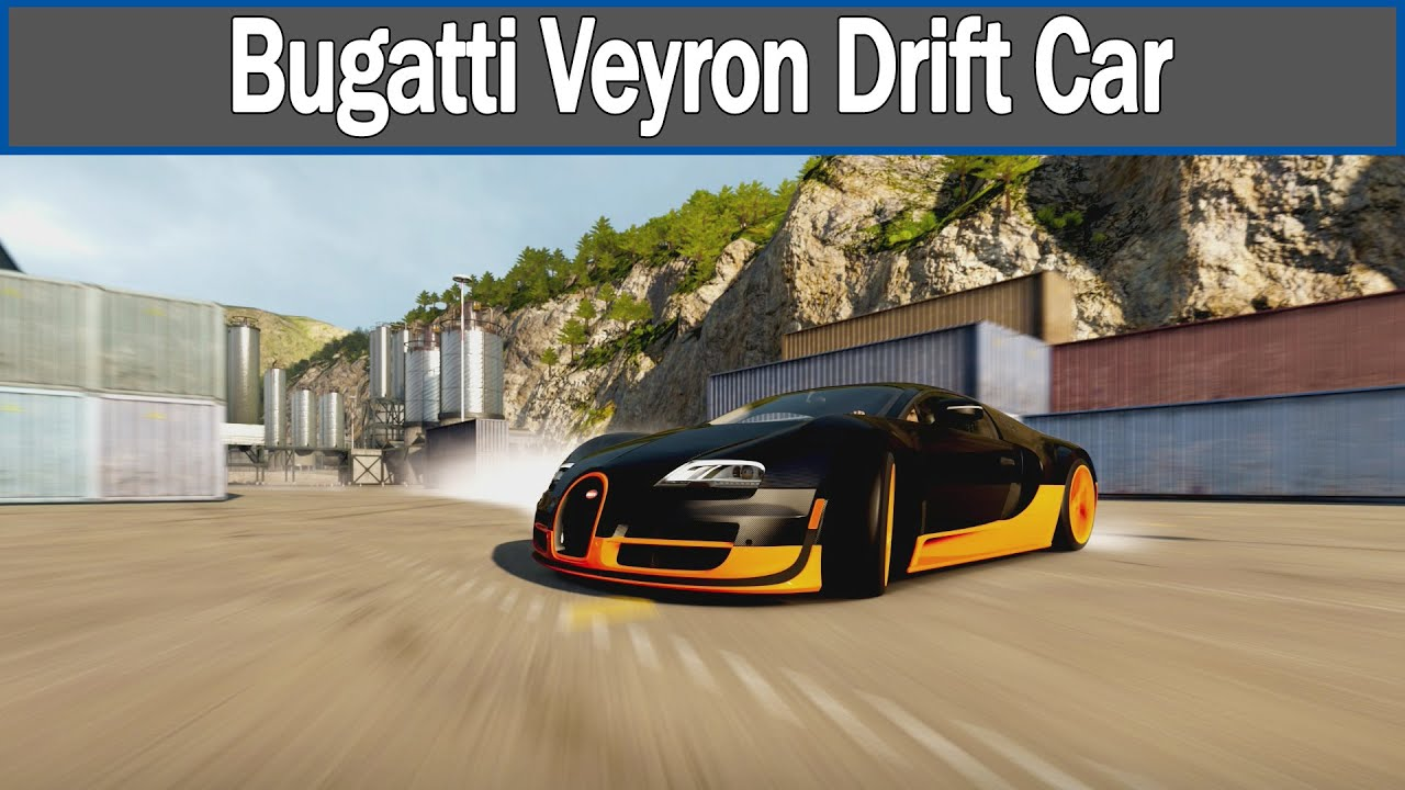 forza horizon 2 bugatti veyron drift car youtube. Black Bedroom Furniture Sets. Home Design Ideas