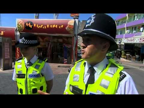 British police start patrols in Magaluf to combat drunken holidaymakers