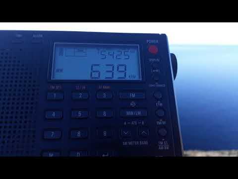 DX-MW: RNE 1 Radio nacional Almería Spain