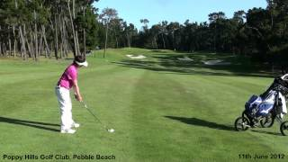 10-year-old Karl plays Poppy Hills Golf Club and Pebble Beach