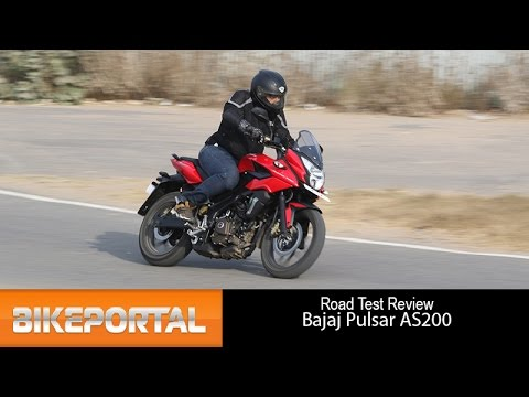 Bajaj Pulsar AS200 Test Drive Review - Bikeportal