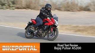 Bajaj Pulsar AS200 Test Drive Review - Bikeportal