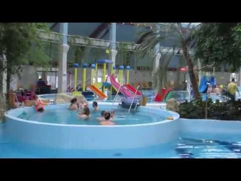 2017-01-10 Венгрия. Аквапарк в Дебрецене. Aquaticum Debrecen Termal  & Wellness