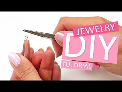 DIY Tutorial – Oogjes maken aan een nietstift  - Zelf sieraden maken