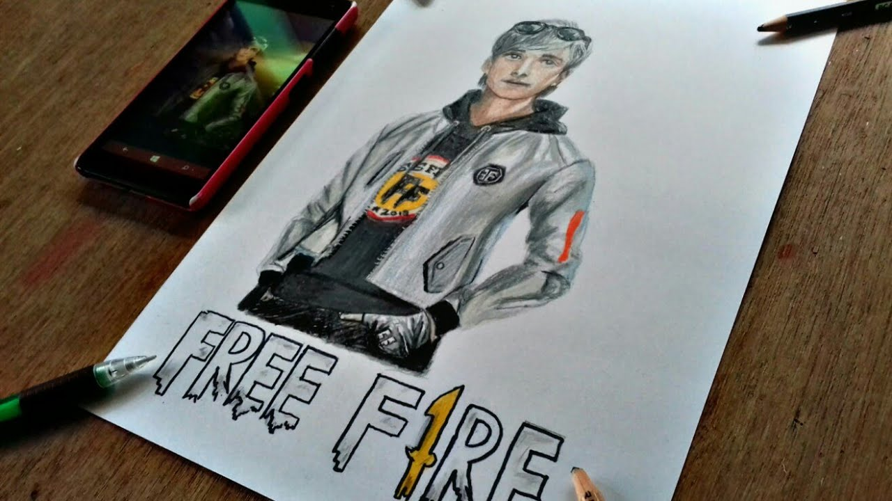 35 Ide Gambar Free Fire Pensil Nation Wides