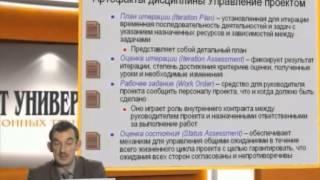 Лекция 8: Основные элементы дисциплин Управление проектом (Project Management)