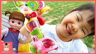 콩순이 말하는 쓱싹 청소기 꾸러기 유니 신나는 청소놀이 했어요 ♡ 장난감 놀이 색깔놀이 숫자놀이 색깔송 learn colors for kids |말이야와아이들 MariAndKids