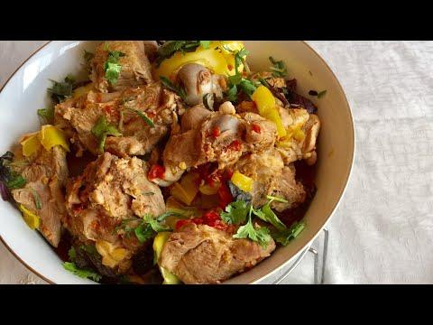 Հայկական խաշլամա գարեջրով/Армянская хашлама/Armenian Recipe Khashlama-by Mila