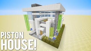 Minecraft: 15x15 Piston House