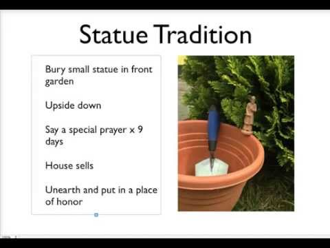 how to use a saint joseph statue to sell a house st joseph statue explainer video youtube. Black Bedroom Furniture Sets. Home Design Ideas