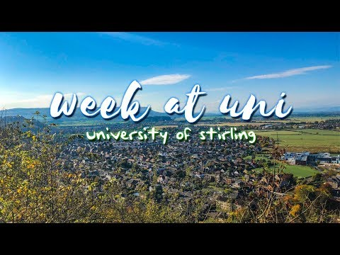 OUR WEEK AT UNI || University of Stirling
