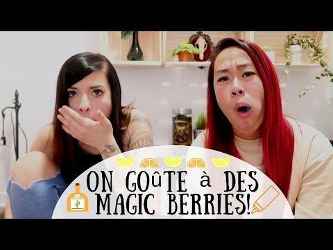 ON GOÛTE À DES MAGIC BERRIES!