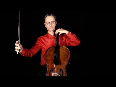 O Come Little Children For Cello In Fast And Slow Tempo
