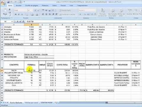 Formularios automáticos en Excel para ingreso de informaciónиз YouTube · Длительность: 6 мин49 с
