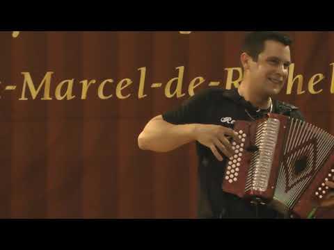 Édition 2018 du festival de l'accordéon, folklore québécois de St-Marcel