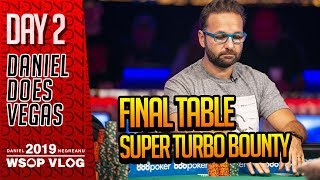 GOING FOR GOLD Super Turbo Bounty FT - 2019 WSOP VLOG DAY 2