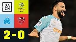 Adil Rami trifft - Freundin Pamela Anderson jubelt: Marseille - Dijon 2:0 | Ligue 1 | DAZN