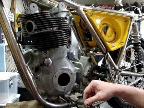 Part 1: Rickman Metisse w/Matchless engine by Randy