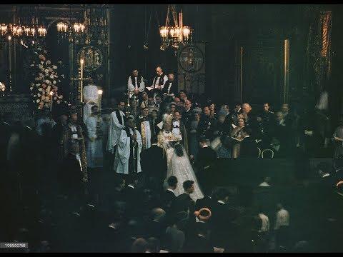 The Royal Wedding Ceremony of Queen Elizabeth II and Prince Philip 1947