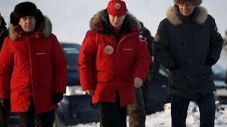 Путин и его шайка в Арктике