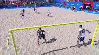 Европейские игры 2019 Пляжный футбол Россия Испания Все голы матча