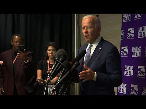 "Joe Biden: Donald Trump ""unhinged"" and ""corrupt"""