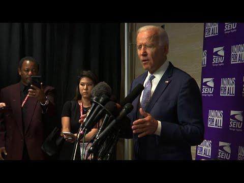 "Joe Biden: Donald Trump ""unhinged"" and ""corrupt"""