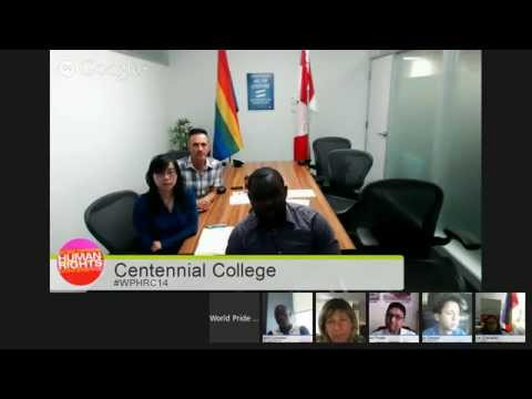 Hangout on Air: World Pride Human Rights Conference