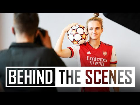 Champions League media day! | Behind the scenes at Arsenal training centre