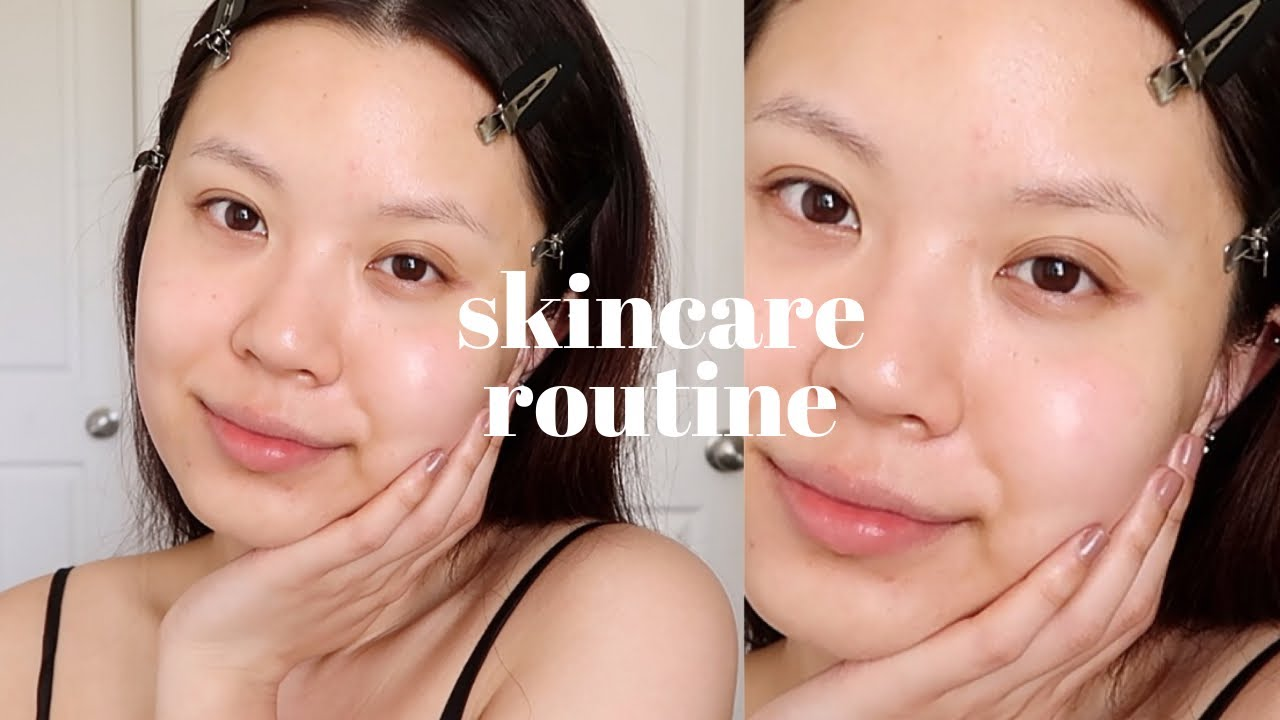 my current skincare routine 🧖🏻♀️✨ (makeup therapy part two)