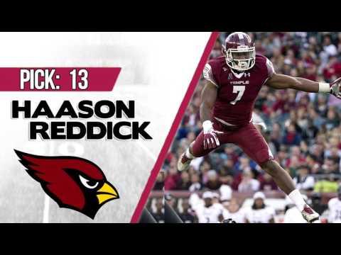 ARIZONA CARDINALS SELECT HAASON REDDICK 13TH OVERALL | 2017 NFL DRAFT