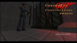 GoldenEye 007 N64 - Prison - 00 Agent (Custom level)